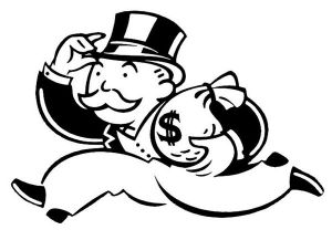 """Rich Uncle Pennybags"" Parker Brothers / Hasbro"