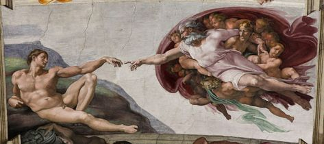 Adam's Creation, Michelangelo